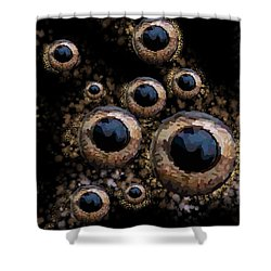 Eyes Have It 3 Shower Curtain