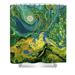 Eyes Of The Stars Shower Curtain
