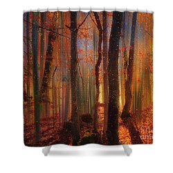 Shower Curtain featuring the digital art Fairy Tales by Edmund Nagele