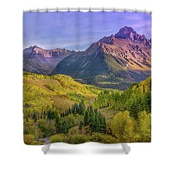 Fall Color In The San Juan Mountains Shower Curtain
