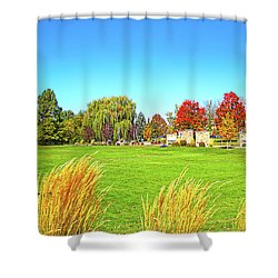 Fall Colors In Boise, Idaho Shower Curtain