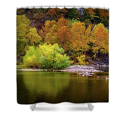 Fall Colors Of The Ozarks Shower Curtain