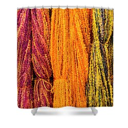 Fall Fibers 2 Shower Curtain
