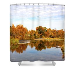 Shower Curtain featuring the photograph Fall In Emmett, Idaho by Dart and Suze Humeston