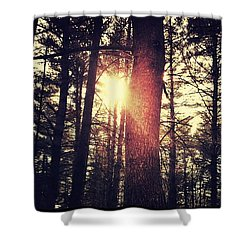 Fall Of Light Shower Curtain