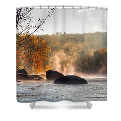 Fall Spirits Shower Curtain