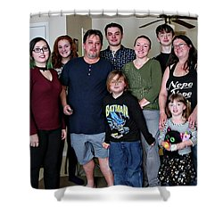 Family2 Shower Curtain