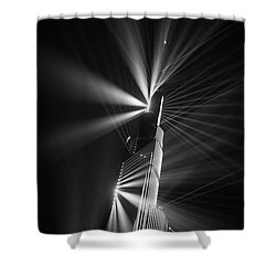 Fan Dance Shower Curtain