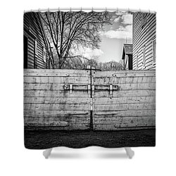 Farm Gate Shower Curtain