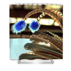 Feathers Of A Headdress Shower Curtain