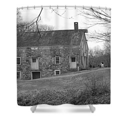 Smith's Store On The Hill - Waterloo Village Shower Curtain