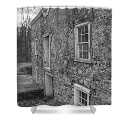 Fieldstone Workshop - Waterloo Village Shower Curtain