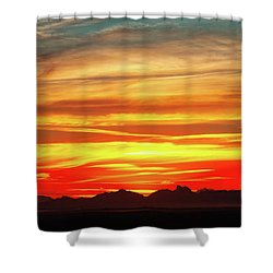 Shower Curtain featuring the photograph Final Glimpses by Rick Furmanek