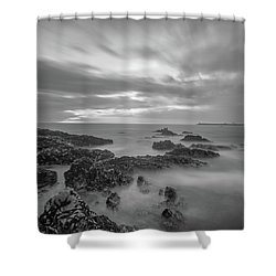 Shower Curtain featuring the photograph Fine Art Of The Sea by Bruno Rosa