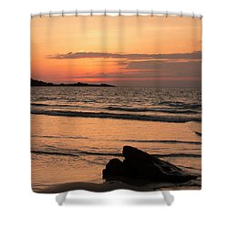 Fine Art Sunset Collection Shower Curtain