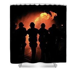 Fire Dragon Shower Curtain