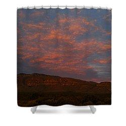 First Light Over Texas 3 Shower Curtain
