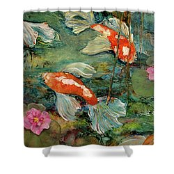 Fishy Tales Shower Curtain