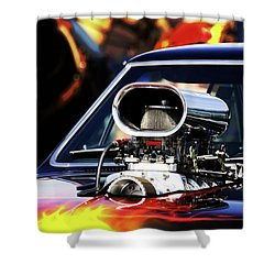 Flames To Go Shower Curtain