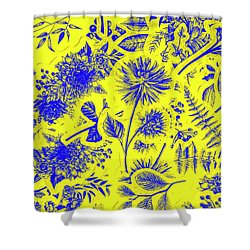 Flora And Foliage Shower Curtain