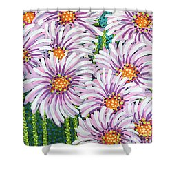 Floral Whimsy 1 Shower Curtain