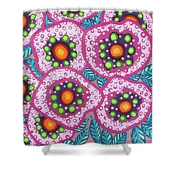 Floral Whimsy 10 Shower Curtain