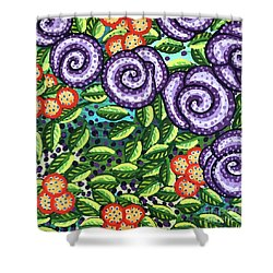 Floral Whimsy 11 Shower Curtain