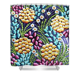Floral Whimsy 2 Shower Curtain