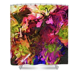 Flower Colour Love 1 Shower Curtain