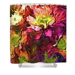 Flower Colour Love 2 Shower Curtain