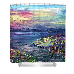 Flower Feilds Shower Curtain