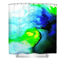 Fluctuating Awareness Shower Curtain