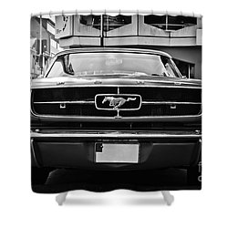 Ford Mustang Vintage 1 Shower Curtain