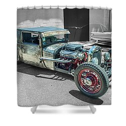Ford Rat Rod Shower Curtain
