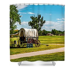 Fort Laramie Shower Curtain