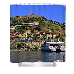 Shower Curtain featuring the photograph Fort St Louis by Tony Murtagh