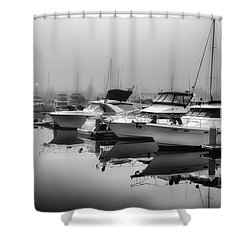 Foss Fog Shower Curtain
