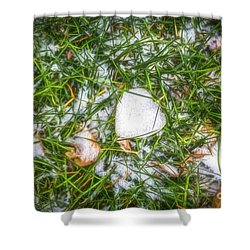 Shower Curtain featuring the photograph Fresh Snow by Jon Burch Photography