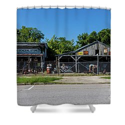 Frog Hollow General Store - Augusta Ga Shower Curtain