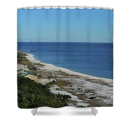 From The Lighthouse Shower Curtain