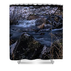 Frozen River II Shower Curtain