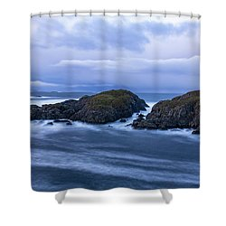 Frozen Water Movement Shower Curtain