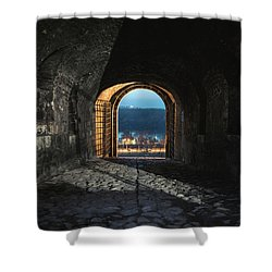 Gate At Kalemegdan Fortress, Belgrade Shower Curtain