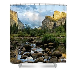 Gates Of The Valley 3 Shower Curtain