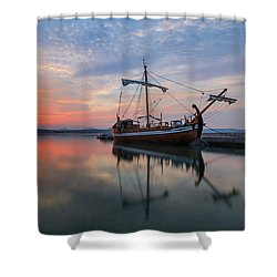 Shower Curtain featuring the photograph Gaul by Davor Zerjav