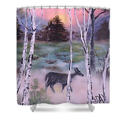 Gentle Mist Shower Curtain