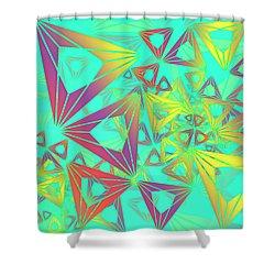 Geovirt Shower Curtain