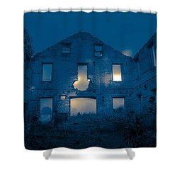 Ghost Castle Shower Curtain
