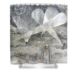 Ghostbusting The New Zealand Storm-petrel Shower Curtain
