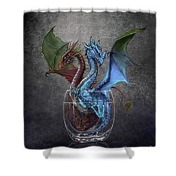 Gin And Tonic Dragon Shower Curtain
